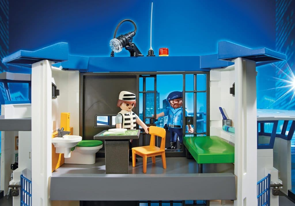 Commissariat de police avec prison 6919 Playmobil City Action