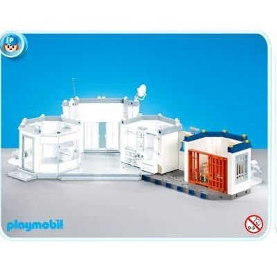 Cellule prison commissariat Playmobil 7393