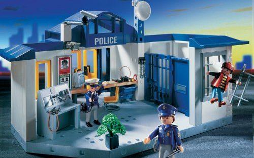 Poste de police 3165 Playmobil