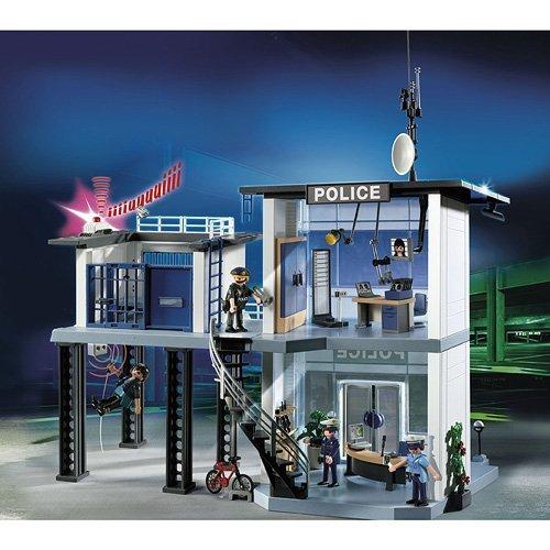 Commissariat de police avec système d'alarme Playmobil 5182