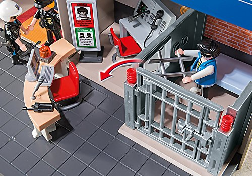 Commissariat de police transportable Playmobil 5299