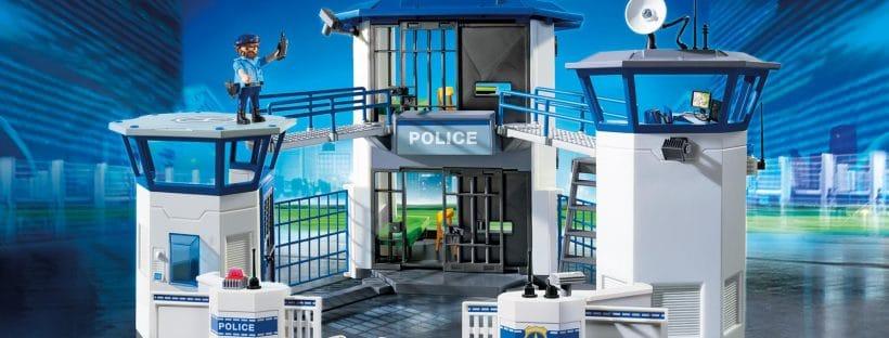 Commissariat avec prison 6919 Playmobil City Action