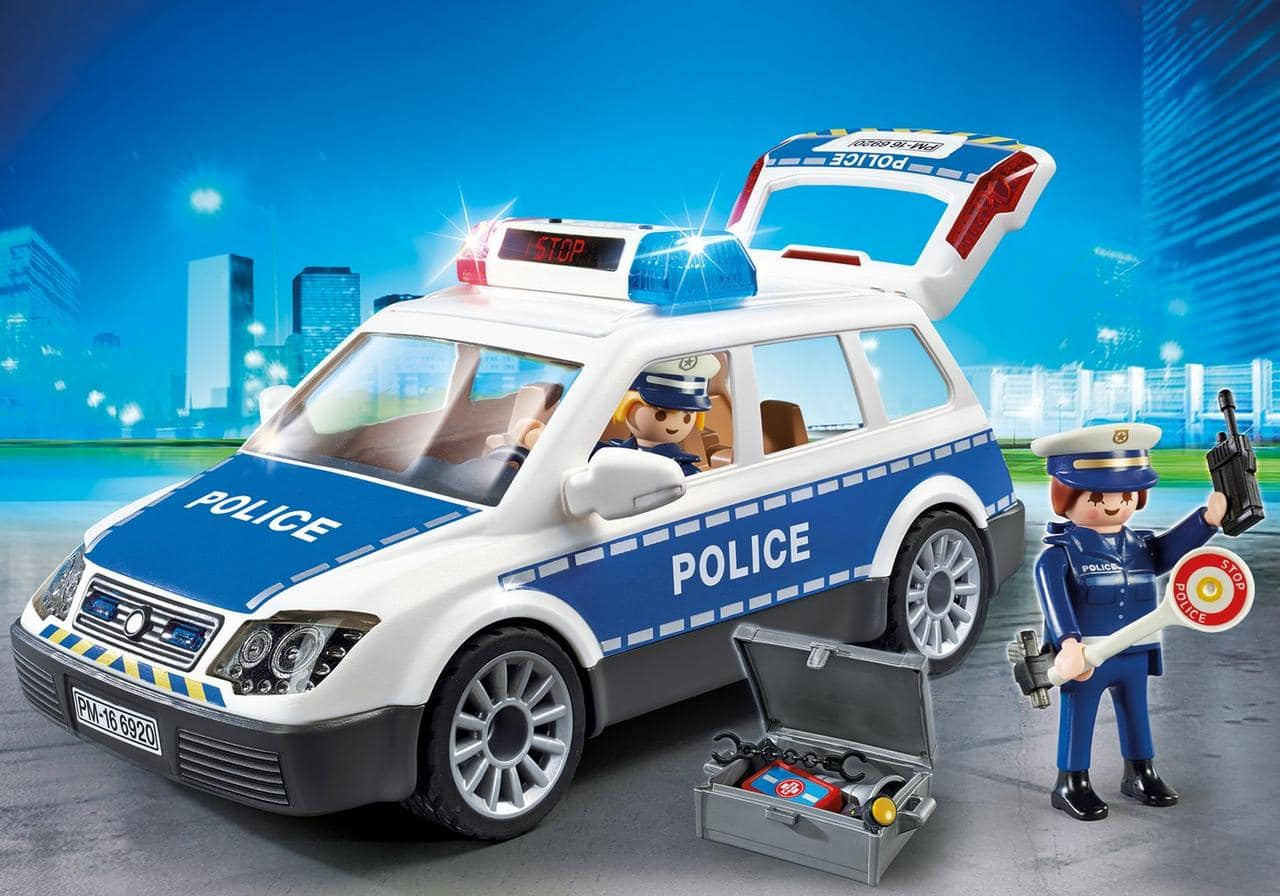 Voiture de police Playmobil City Action 6920