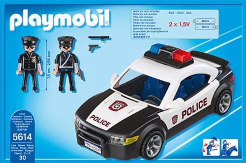 Voiture de police 5614 Playmobil City Action