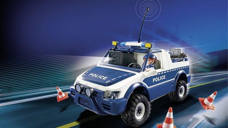 4x4 de police radiocommandé avec caméra 5528 Playmobil