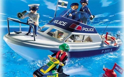 Vedette de police et jet-ski Playmobil 3190