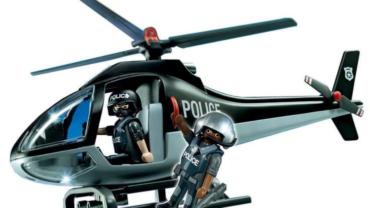 Hélicoptère des forces spéciales Playmobil 5975