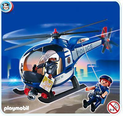 Hélicoptère de police Playmobil 4267