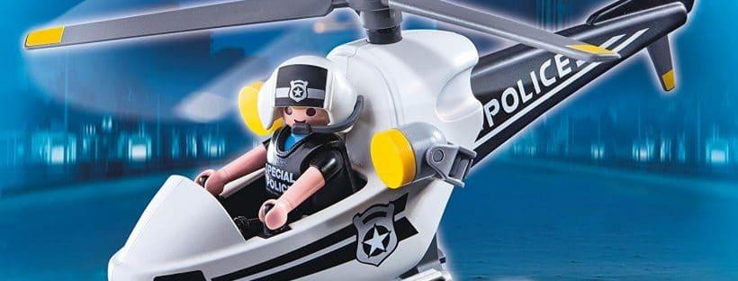 Hélicoptère de police Playmobil City Action 5916