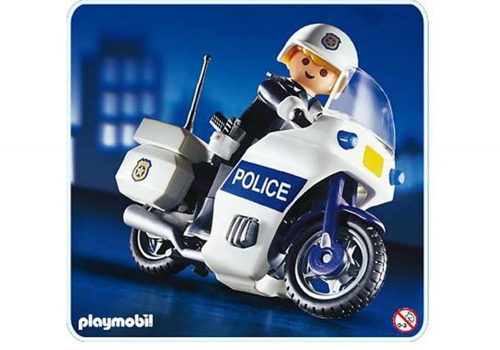 Moto de police Playmobil 3986