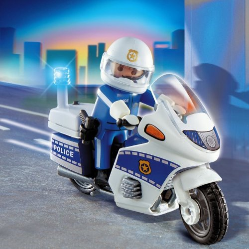 Moto de police Playmobil 4262