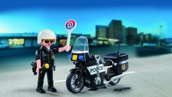 Motos de police Playmobil