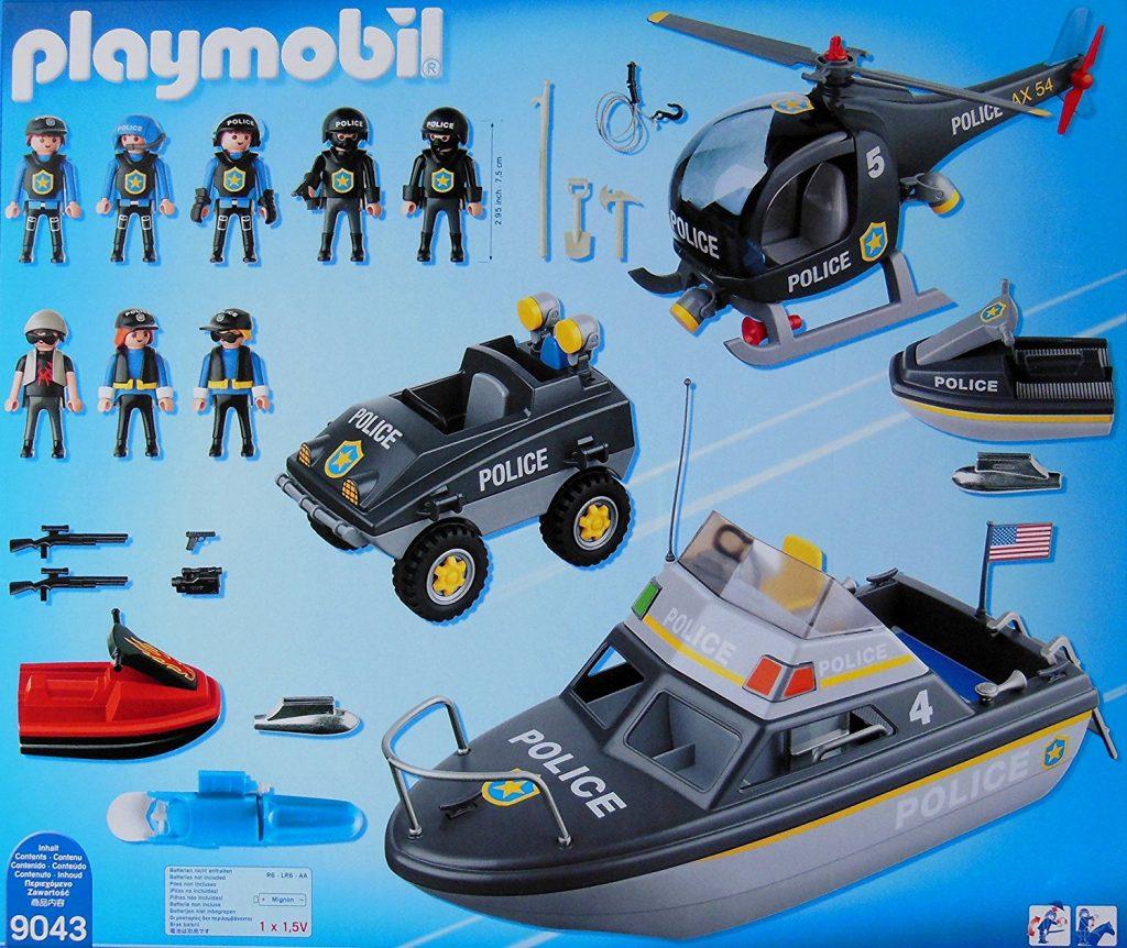 Forces spéciales et véhicules Playmobil 9043