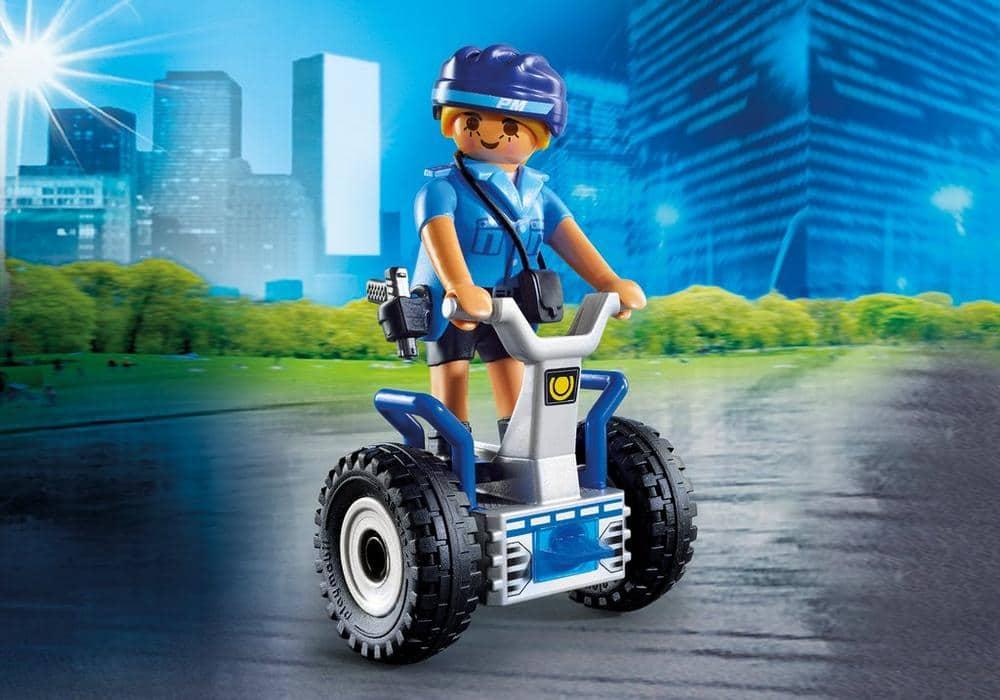 Policière avec gyropode Playmobil City Action 6877