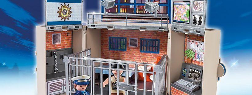 Poste de police transportable Playmobil City Action 5421