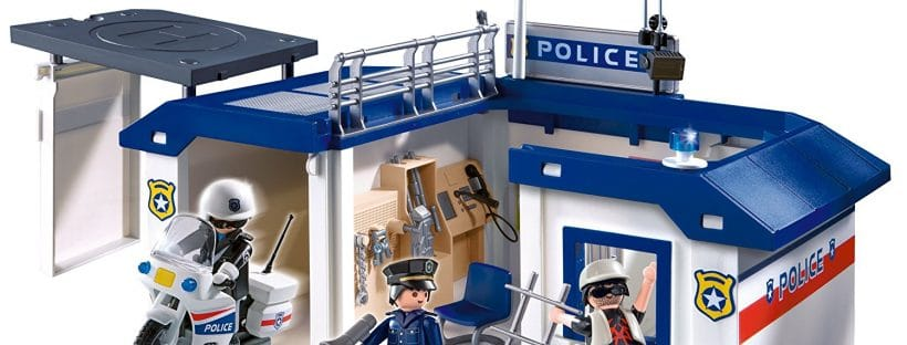 Poste de police transportable 5917 Playmobil
