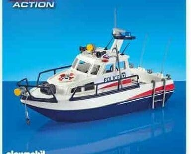 Vedette de police Playmobil City Action 6282