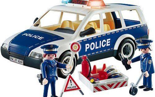 Voiture et patrouille de police Playmobil 4260