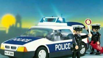 Voiture de police et policiers 3904 Playmobil