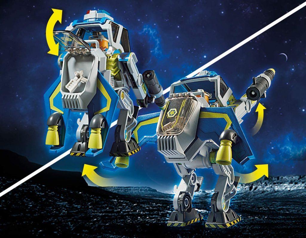 Robot et policier de l'espace Galaxy Police Playmobil 70021