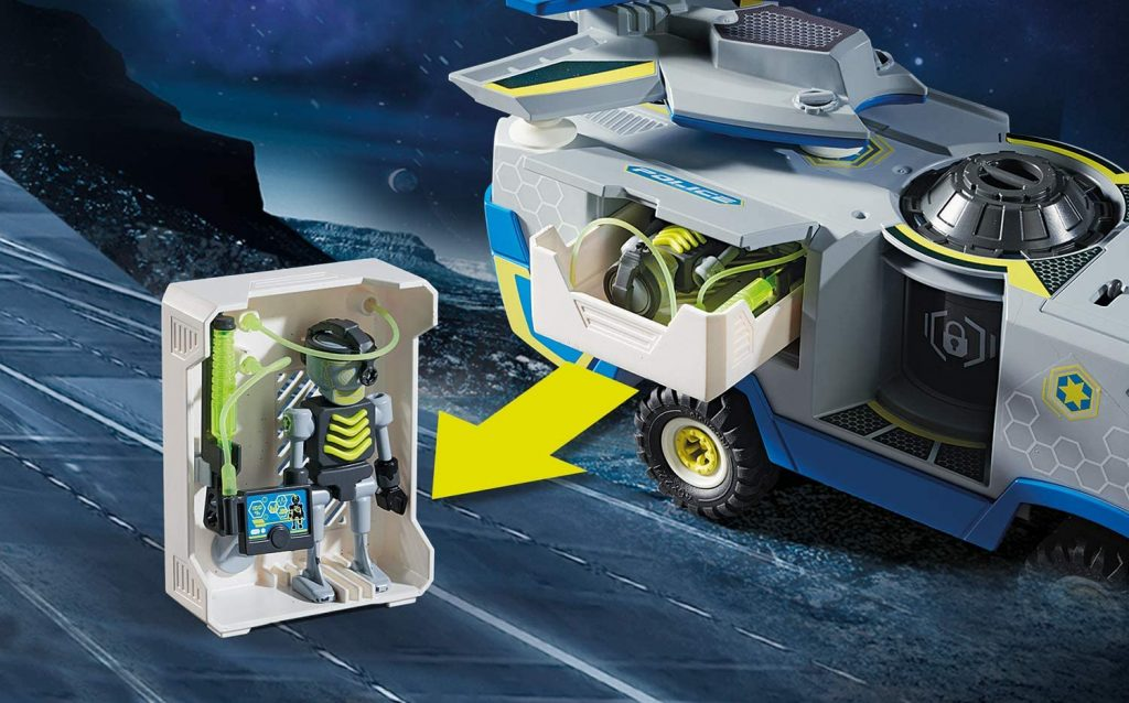Véhicule des policiers de l'espace Playmobil Galaxy Police 70018