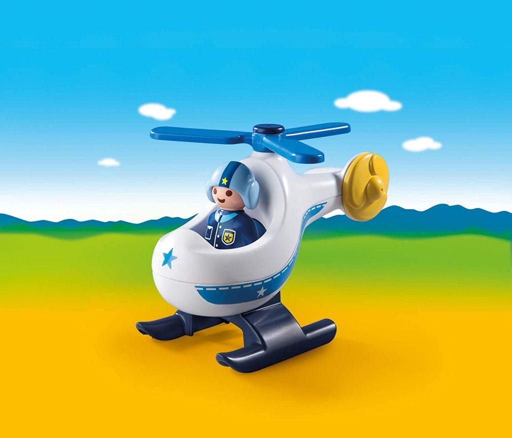 Hélicoptère de police Playmobil 123 9383