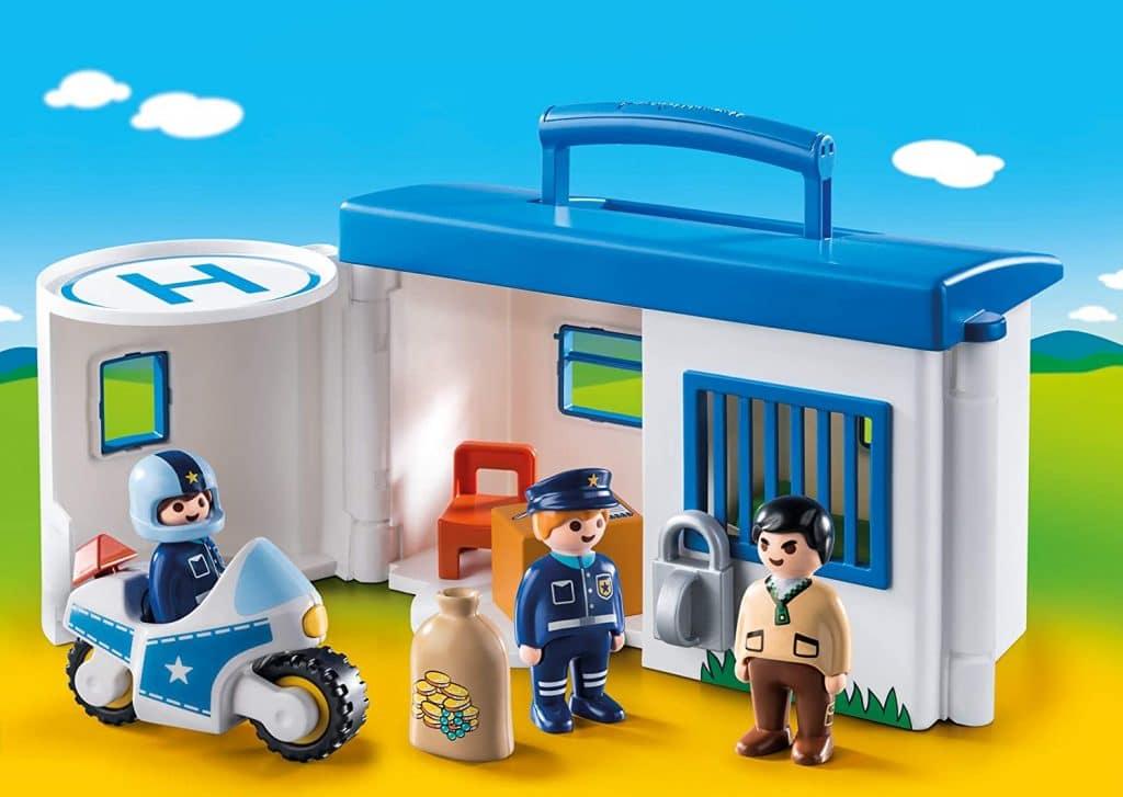 Commissariat de police transportable 123 9382