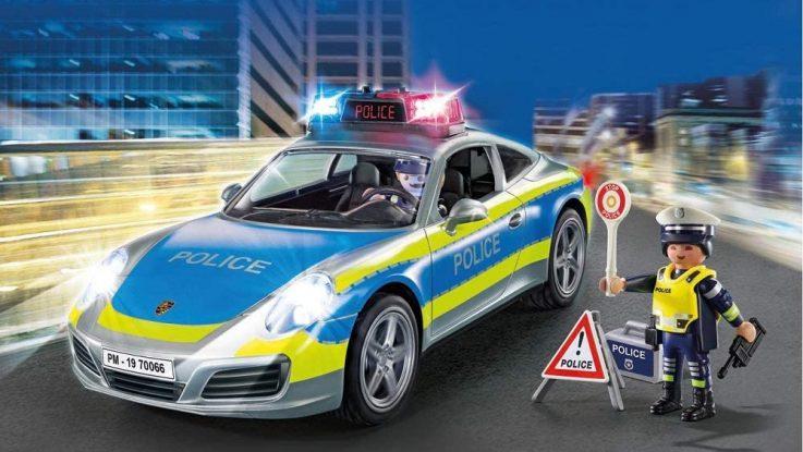 Porsche 911 Carrera 4S Police Playmobil 70066